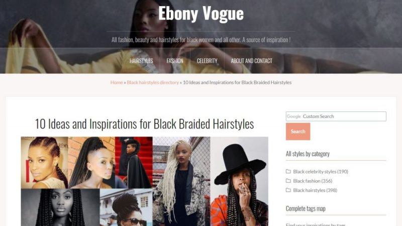 Ebony Vogue : un Blog de mode