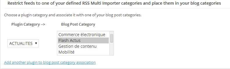 RSS Importer Post
