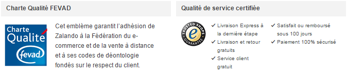 eCommerce Label confiance Trusted shop et Fevad