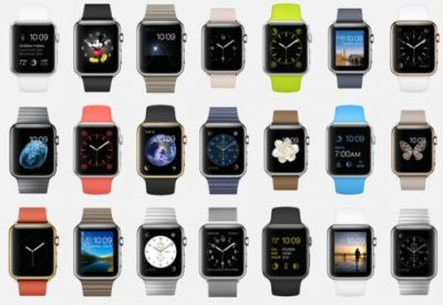 Actualites Objets connectés montres Wearables Apple Watch